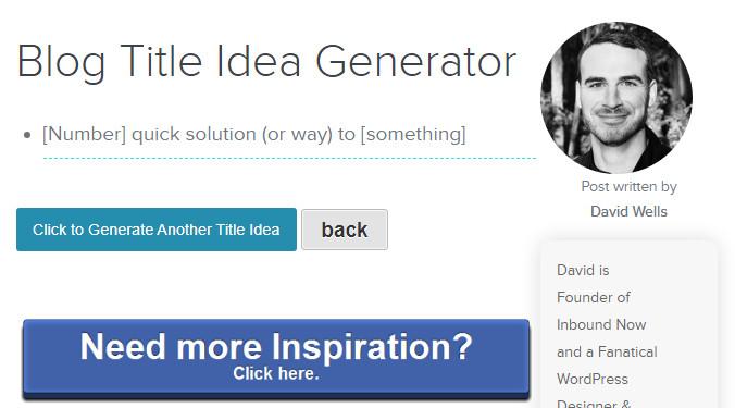 Идея для статьи в блог